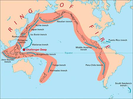 A csendes-óceáni tűzkör