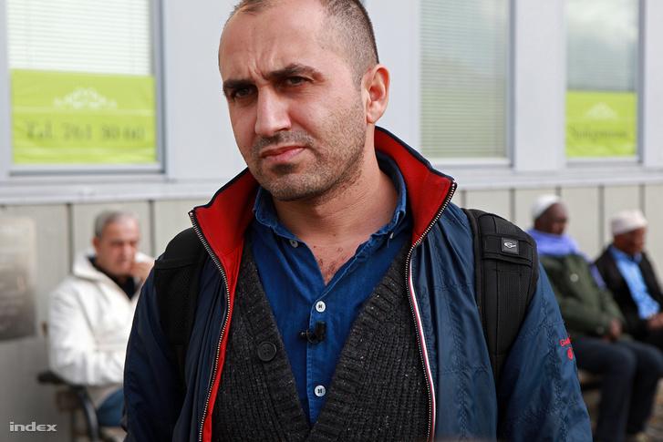 Hogir Horiri, kurd származású filmes Stockholm bevándorlók lakta negyedében