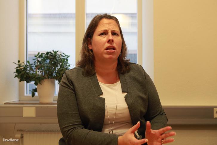 Anna Nordin Larsson az egyedül érkező menekült gyerekek programját vezeti