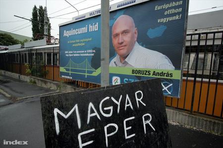 Boruzs András indult a tavalyi EP-képviselő választáson is