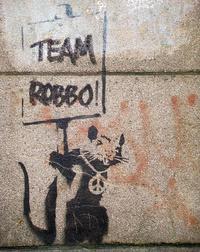 Egy februárban átfestett Banksy-kép