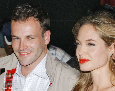Johnny Lee Miller és Angelina Jolie