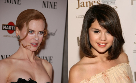 Nicole Kidman vs Selena Gomez