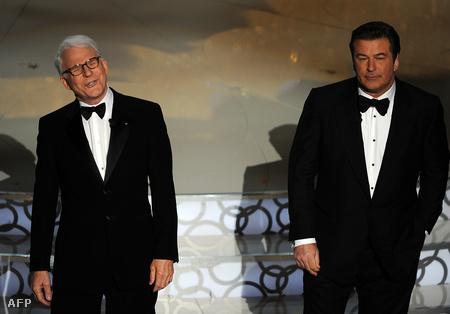 Steve Martin és Alec Baldwin, a 2010-es Oscar-gála házigazdái