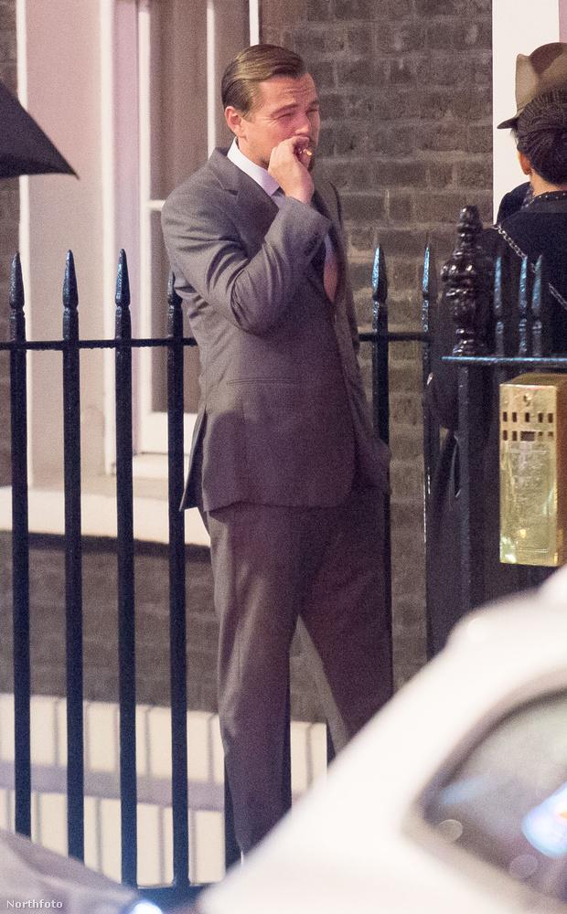 Ezek a fotók Londonban, az új, klímaváltozásról szóló filmjének premierje előtt készültek a színészről...