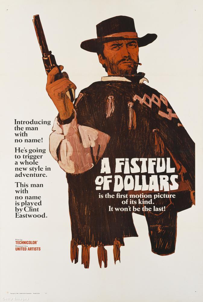 1964-ben mutatták be az Egy maréknyi dollárért című filmet