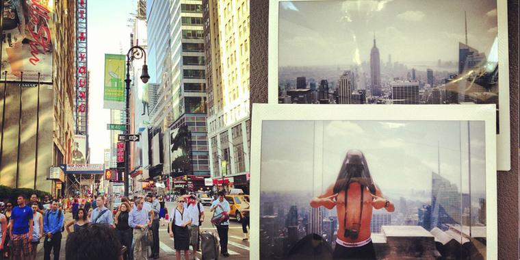 ...elmegy New Yorkba, új lehetőségek után kutatni! A város rabul ejtette, meghatározó élmény volt az első kint töltött két hét