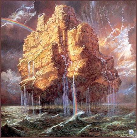 Patrick Woodroffe lebegő sziklája