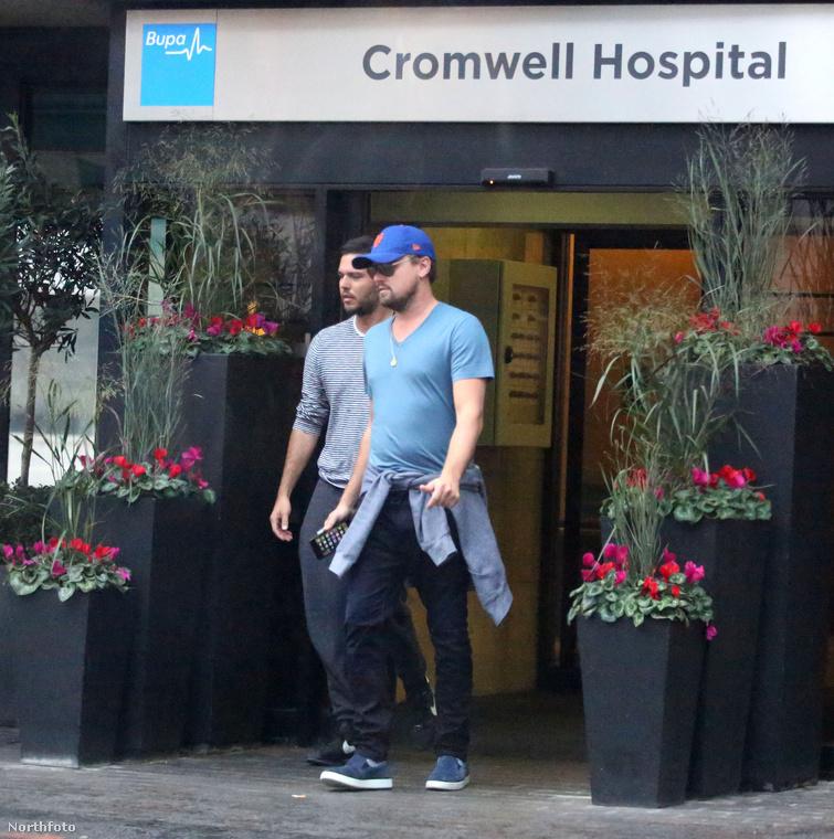 A Cromwell Kórházat látogatta meg, kifelé már nem rejtőzködött
