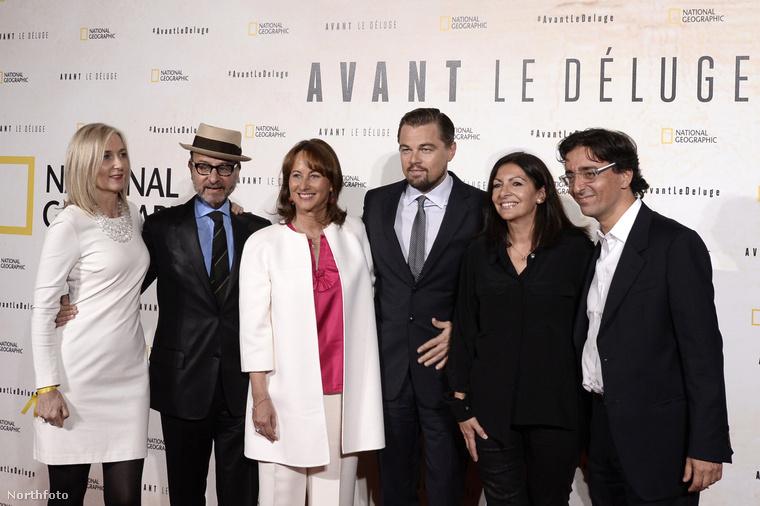 Leonardo DiCaprioról már tegnap megemlékeztünk: Londonban mutogatja új filmjét, mely a klímaváltozásra hívja fel a figyelmet.