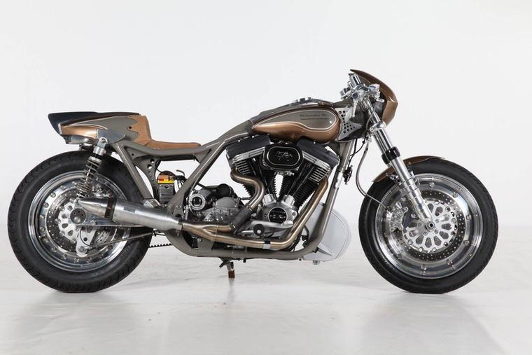 A Modified Harley-Davidson kategóriában értelemszerűen csak Harley-k indulhatnak
