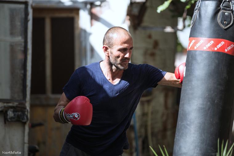Ennek érdekében próbál minden tőle telhetőt megtenni: kondizással és boksszal sanyargatja magát, hogy Jason Statham-i szintre hozza izomzatát