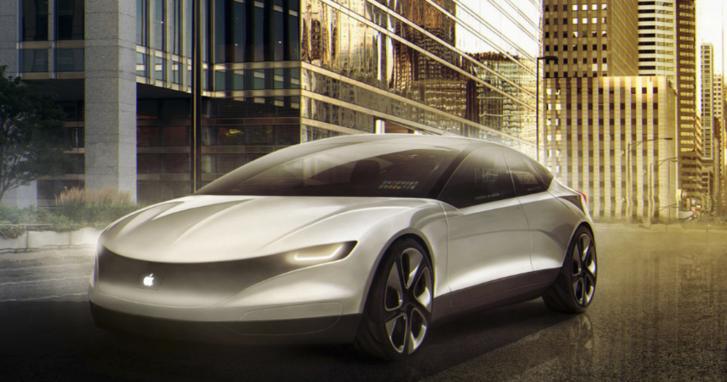 A Carwow fantáziarajza az Apple autójáról