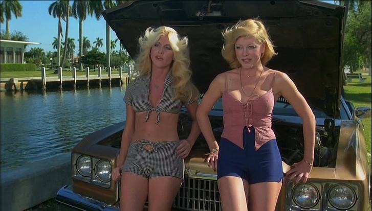 Bűnvadászok (1977) - Chevrolet Caprice Classic kabrió. Mármint a hölgyek mögött