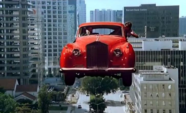 Aladdin (1986) - Rolls-Royce Silver Cloud II