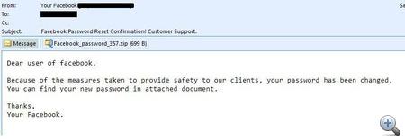 Ha emailben küldik az új jelszót - ne dőljenek be!