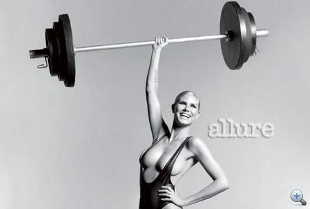 Kattintson még több félmeztelen Heidi Klumért!