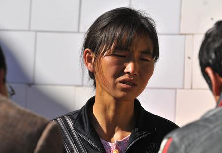 Tang Tang anyja (Fotó:Europress)