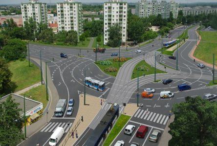 A körforgalom látványterve (forrás: ujpalyan.hu)
