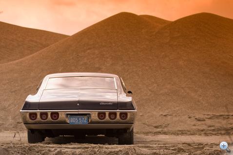 A Chevynél majdnem végig ragaszkodtak az Impala három különálló hátsó lámpájához