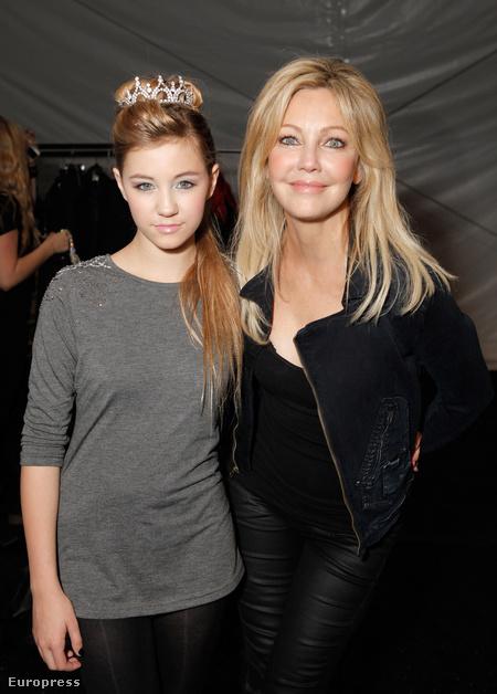 Heather Locklear és lánya Ava Sambora a Los Angeles Fashion Week-en.