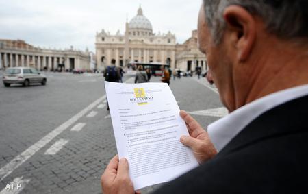 A pápa levele