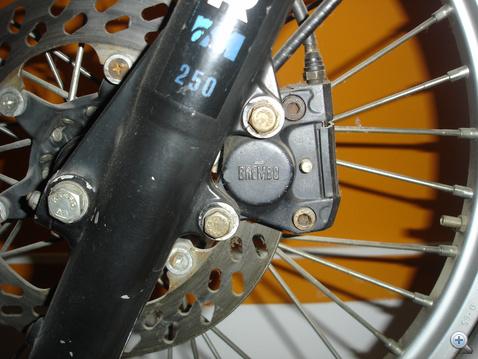 A Brembo speciális, terepmotorokra fejlesztett féke 1978-ból
