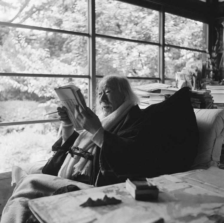 A történész, újságíró és író Soho Tokutomi portréja 1957-ből.
