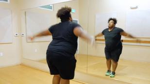 El sem hinné, hogyan ropja ez a 136 kilós táncos