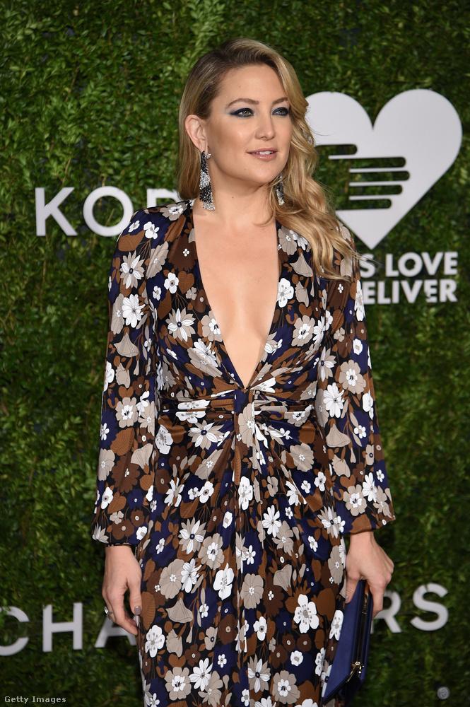 Kate Hudson a héten Michael Kors New York-i eseményén, a Golden Heart Awards-gálán vett részt