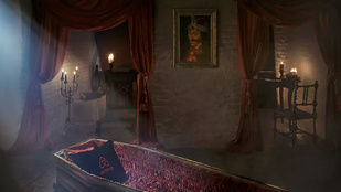 Most ingyen alhat Drakula koporsójában