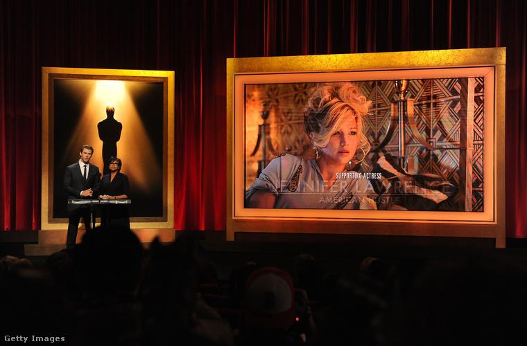 Oscar-díj jelölés az Amerikai botrányért.