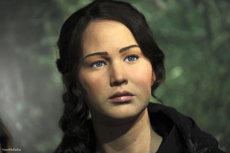 Jennifer Lawrence viaszból.