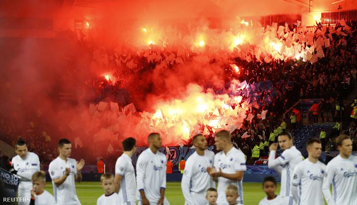 Kezdődik a Leicester City - Köbenhavn