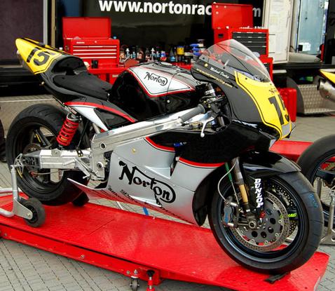 A Norton NRV588, ami tavaly egy métert sem ment versenytempóban