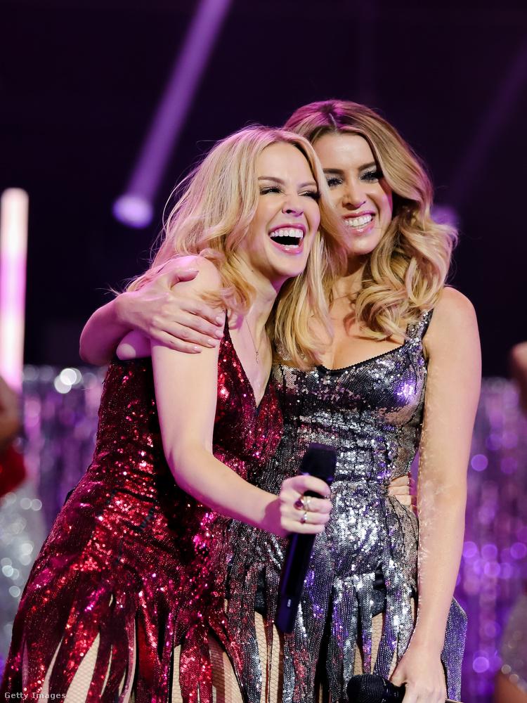Kylie Minogue volt az, aki ugyancsak énekléssel foglalkozó testvérének, Dannii Minogue-nak üzent így.