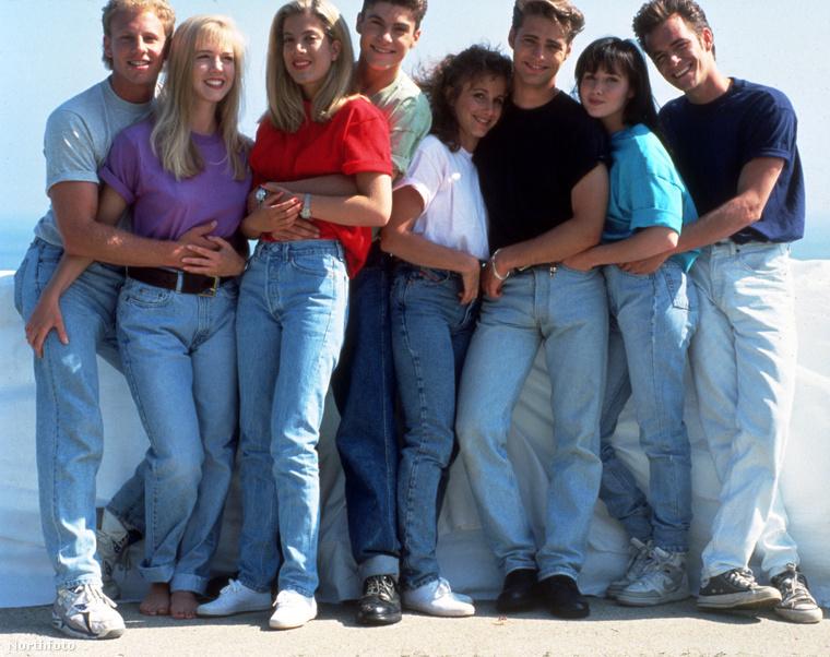 A Beverly Hills 90210 a 90-es évek egyik legnépszerűbb sorozata volt.