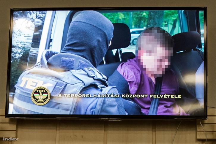 A Teréz körúti robbantással gyanúsított férfi elfogása