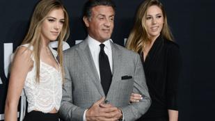 Sylvester Stallone-nél nem tudunk éppen aranyosabb apukát mutatni