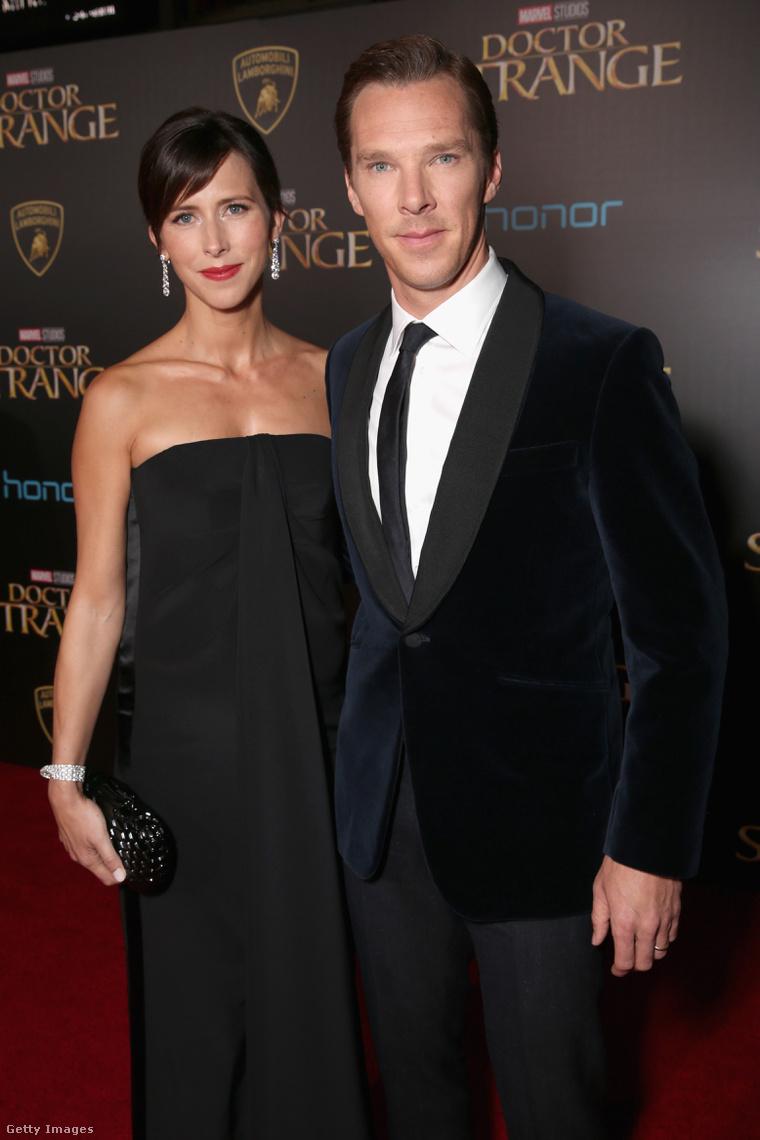 Benedict Cumberbatch és Sophie Turner