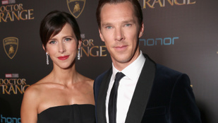 Úton van Benedict Cumberbatch és Sophie Hunter második gyermeke