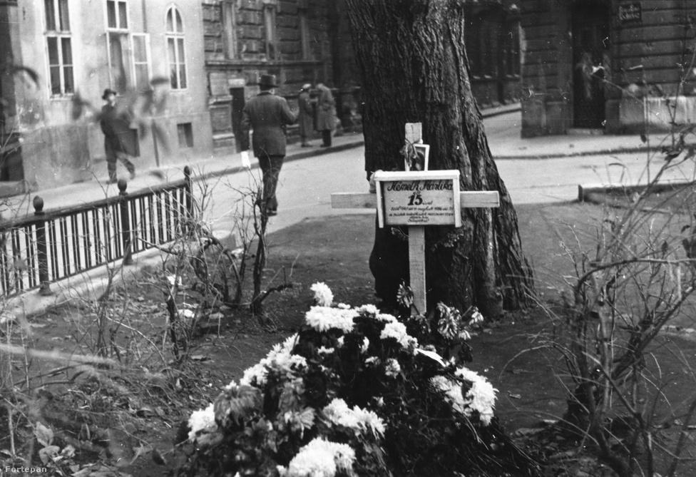 Németh Mártika, élt 15 évet. Sírja a pesti belvárosban lévő Károlyi kertben, ma talán virágágyások vannak a helyén.