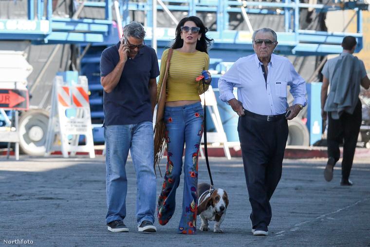 Férje sanyarú sorsa szerencsére Amal Clooney-t hagyta hidegen.