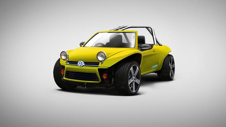VW Golf Buggy: egy Volkswagen Golf R és a Beach Buggy ötvözése
