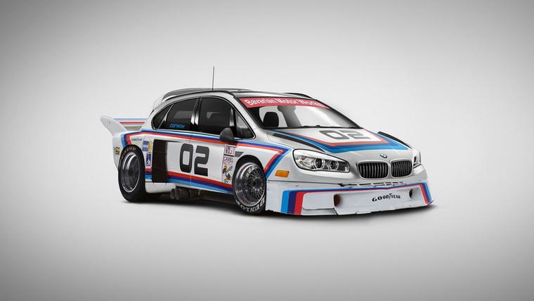 BMW Active CSL Tourer: két BMW-ből készült ez a rettenet