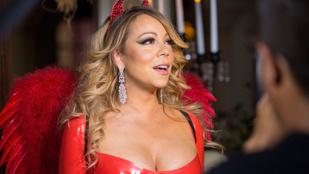 Mariah Carey dekoltázzsal próbálja meg előre lepipálni Heidi Klumot