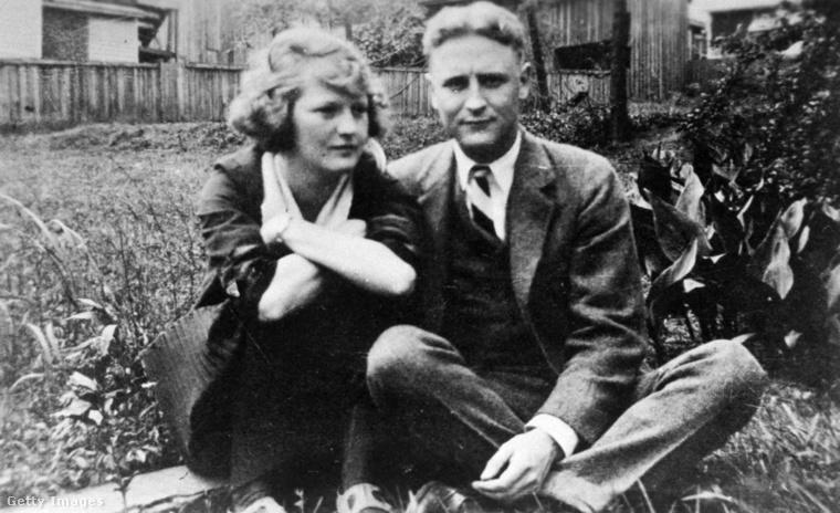Zelda és F. Scott Fitzgerald 1921-ben.