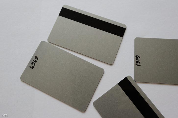 Klónozott bankkártyák