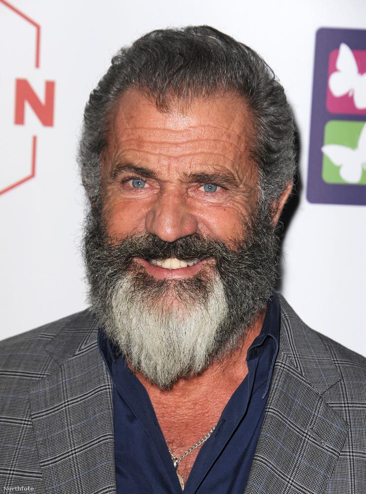 A színész-rendező szakálla egyre méretesebb, és szerencséjére szép szimmetrikusan őszül