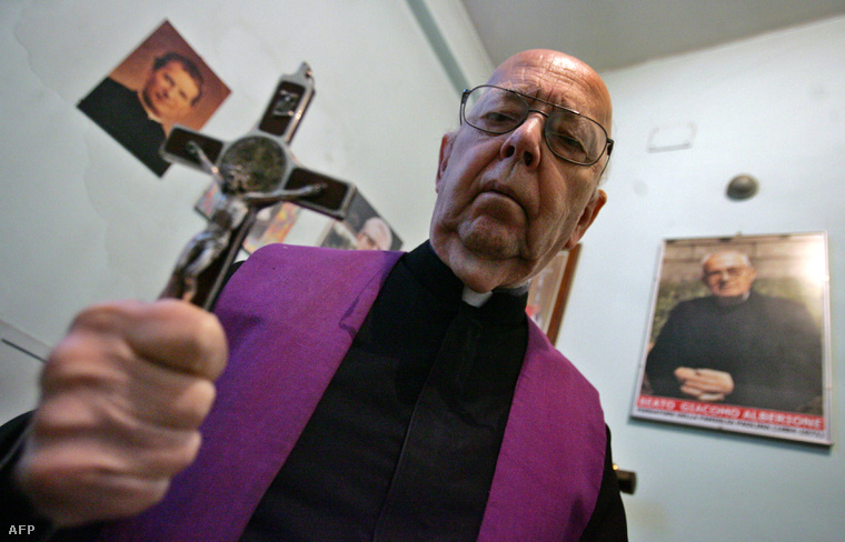 A múlt hónapban elhunyt Gabriele Amorth atya több mint 160 ezer ördögűzést végzett